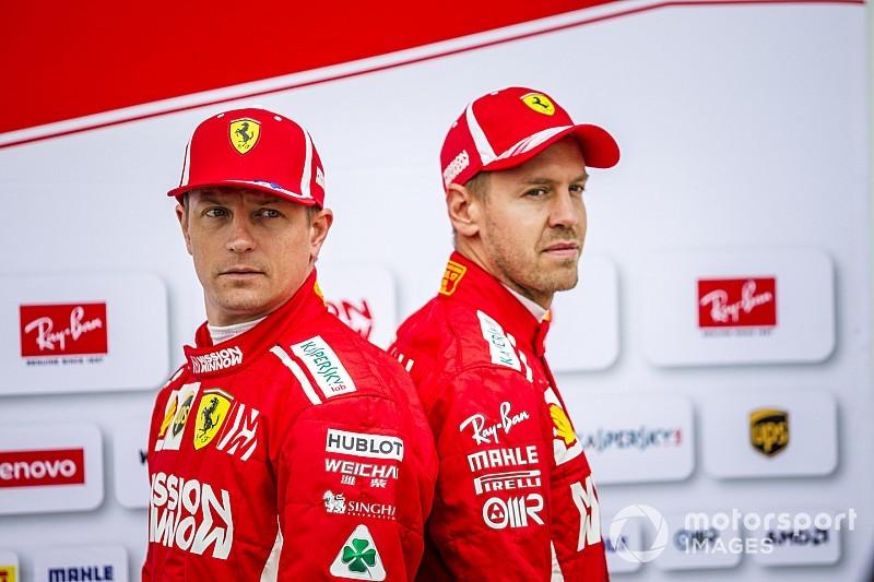 Главные моменты сезона Ф1 в фотографиях: Ferrari