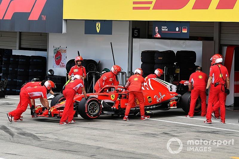 Hamilton tak menyangka Vettel akan keteteran di sisa musim