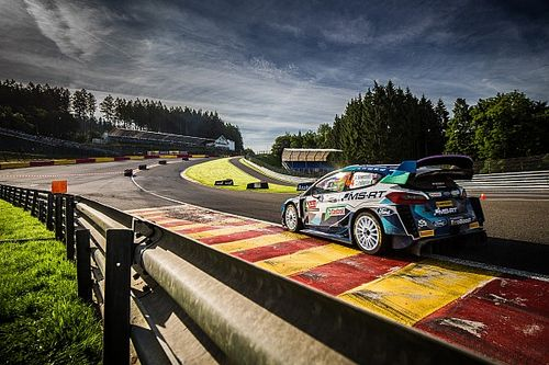VIDEO: WRC-bolides scheuren over Circuit Spa-Francorchamps