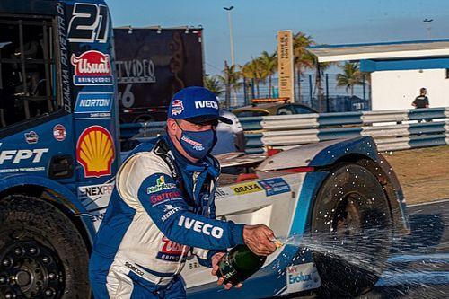 Giaffone e Pivetta levam Iveco Usual Racing ao pódio nas duas corridas da Copa Truck em Goiânia