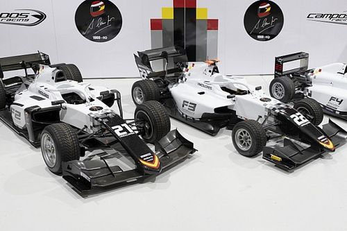 Campos F2 squad reveals tribute livery to late founder