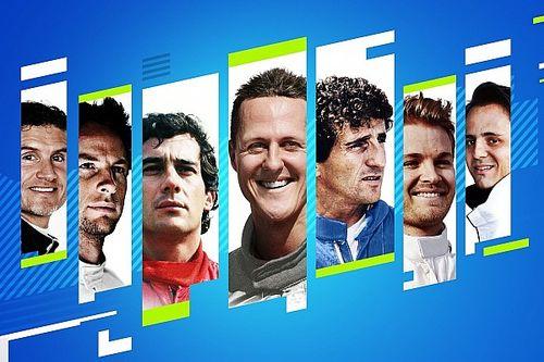 Le jeu F1 2021 dévoile ses sept pilotes de légende