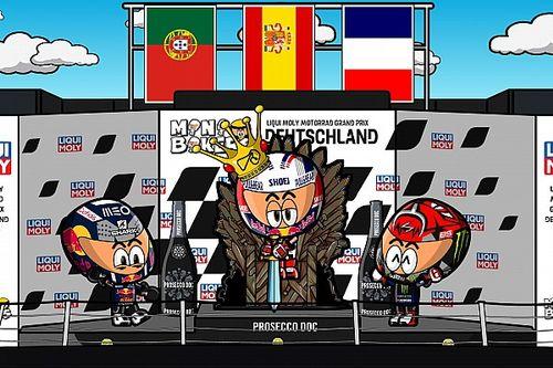 Vídeo: el 'Retorno del Rey' en el GP de Alemania de MotoGP, por MiniBikers