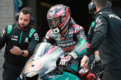"""Quartararo admits he got """"too angry"""" about practice hold-ups"""