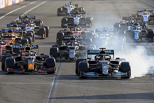 Hamilton explains 'magic button' incident that led to restart off