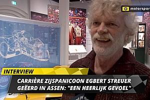Eerbetoon aan zijspanicoon en TT-winnaar Egbert Streuer: