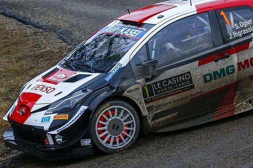 Monte Carlo Rallisi: Ogier liderliğe yükseldi, Toyota 1-2-3!