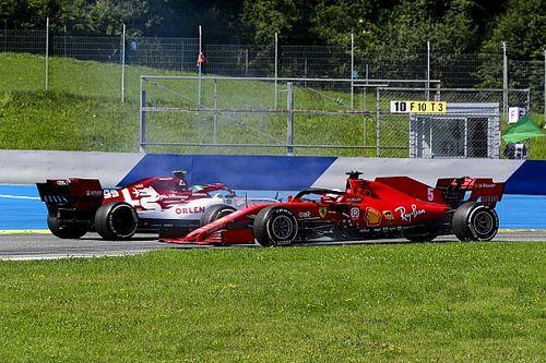 """Vettel feliz de solo haber trompeado """"una vez"""" en Austria"""