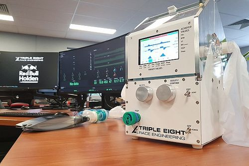 Triple Eight improves emergency ventilator