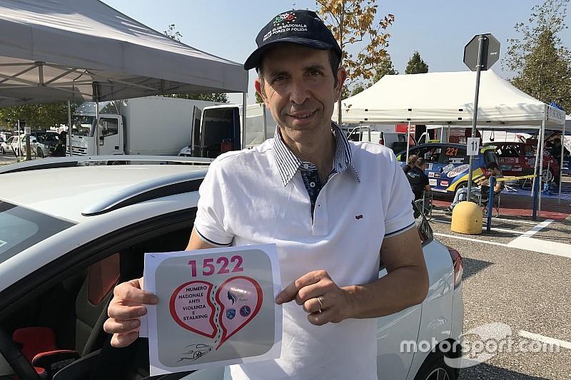 Rossignoli, il poliziotto che corre con Suzuki per promuovere una bella iniziatva