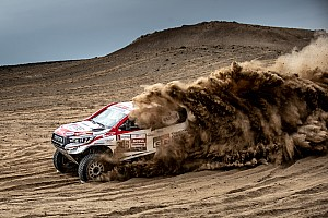 Ten Brinke moet Dakar Rally 2019 verlaten door motorprobleem