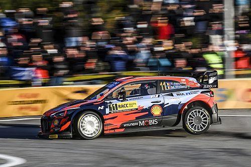 WRC, Rally Spagna, PS4: Neuville riparte forte. Tanak KO!