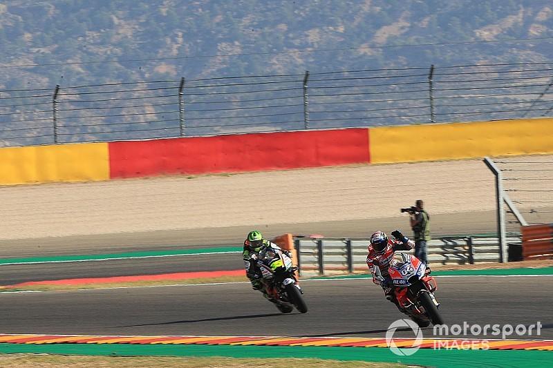Crutchlow: Ducati, Aragon'da Honda'nın önüne geçti
