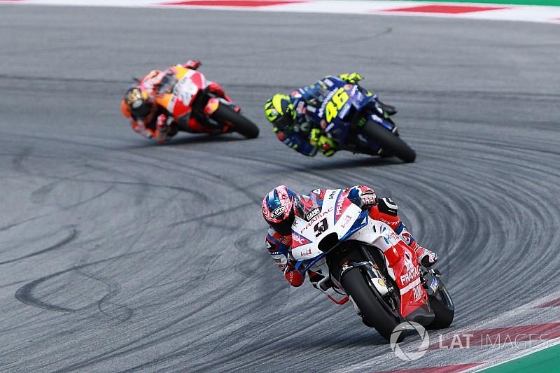 Petrucci: Last 10 laps in Austria were a