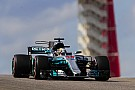Formula 1 United States GP: Hamilton on pole as Vettel snatches second
