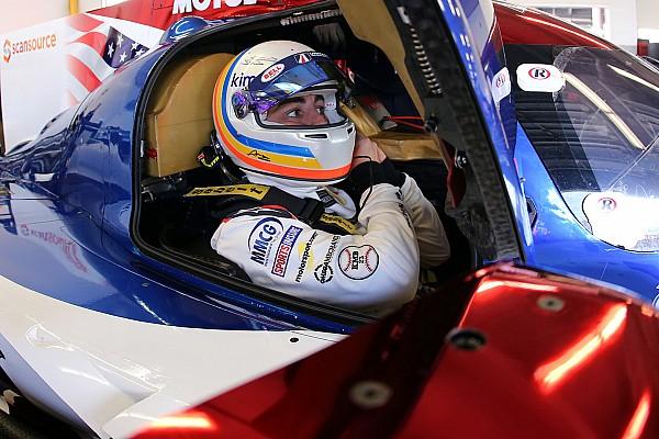 """IMSA アロンソのデイトナ初レースは""""問題多発""""「驚いたけど、良い経験だ」"""