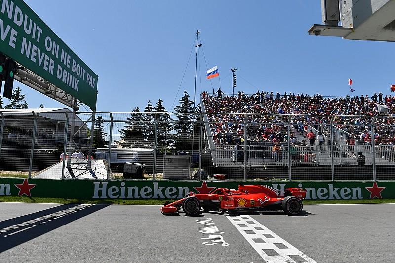 Kanada GP öncesi: Yarış gridi