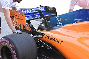 Formula 1 Analisi McLaren: migliorato il raffreddamento sotto al cofano