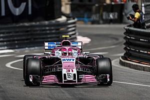 Formule 1 Réactions Ocon, 6e :