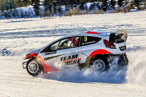 """Other rally Breaking news Castroneves: """"Everything is the opposite"""" in ice racing"""