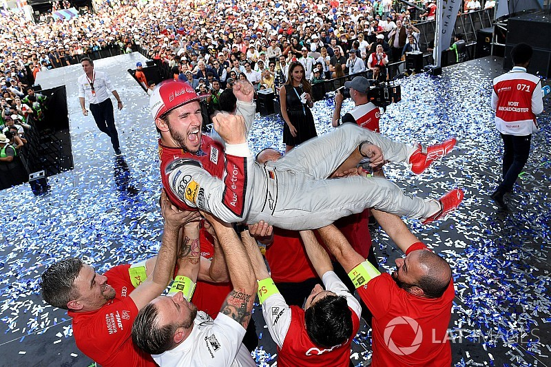 Mexico City ePrix: Abt gets first win, disaster for Rosenqvist