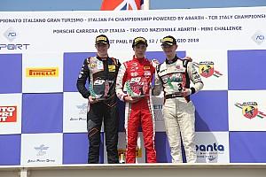 Fórmula 4 Últimas notícias Caldwell vence corrida 1 em Paul Ricard; Petecof é 13º