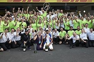 F1 Comentario Por qué los títulos de Mercedes en 2017 han sido su mayor logro