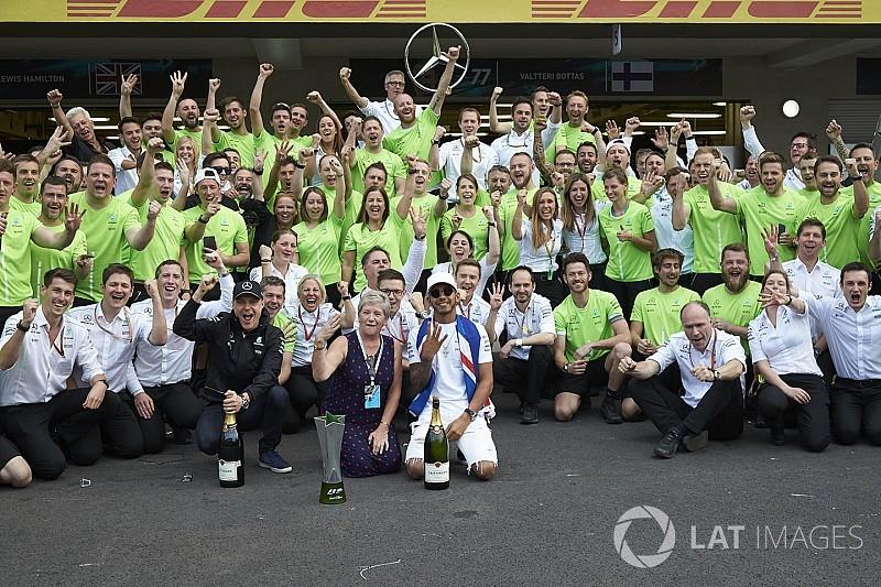 Pourquoi les titres de Mercedes en 2017 sont les plus impressionnants