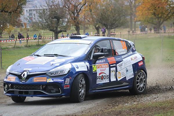Coupes marques suisse Résumé de course Clio R3T Alps Trophy, Vuistiner champion :