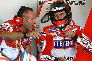 MotoGP Réactions Lorenzo voit son retard se réduire et espère se mêler aux leaders