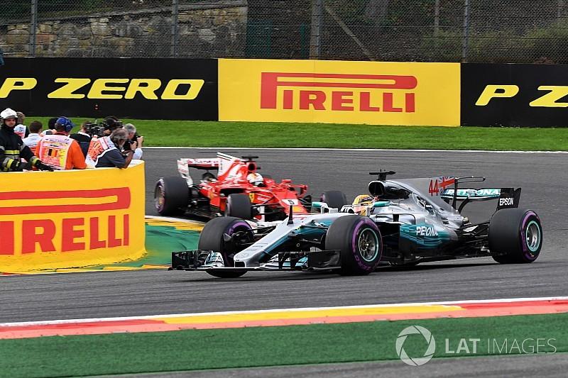 Hamilton-győzelem a Belga Nagydíjon Vettel és Ricciardo előtt