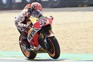 MotoGP Practice report Le Mans MotoGP: Marquez edges Folger in morning warm-up
