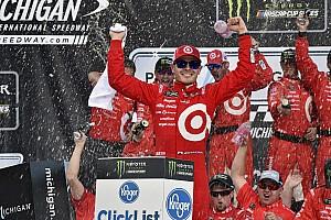 NASCAR Cup Reporte de la carrera Kyle Larson suma su tercera victoria al hilo
