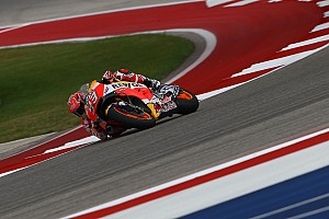 MotoGP Practice report Austin MotoGP: Marquez hits back to top second practice