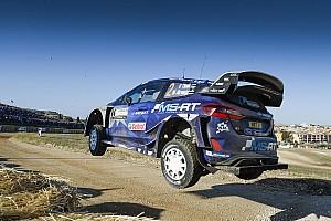 WRC Reporte de la carrera Tanak toma el mando del Rally de Italia tras el abandono de Paddon