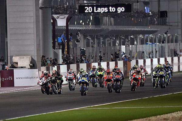 MotoGP Ergebnisse MotoGP 2017 in Doha: Das Rennergebnis in Bildern