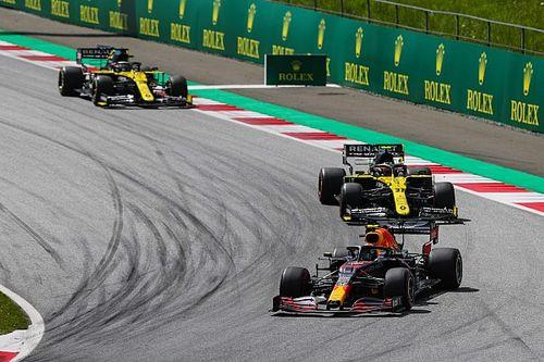 Renault better in dirty air than last year's car - Ricciardo