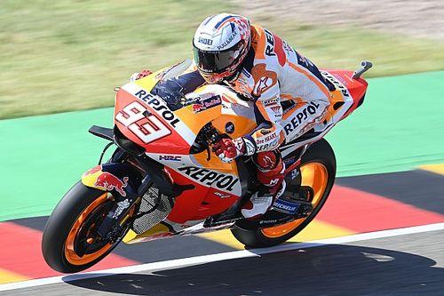 Márquez lidera la FP1 del GP de Alemania de MotoGP