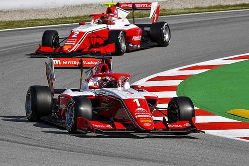 Barcelona F3: Hauger snatches late pole from Doohan