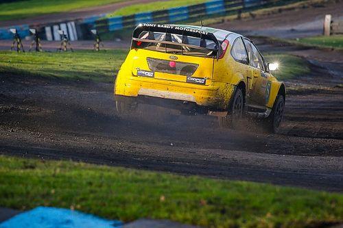 The addictive experience of racing a rallycross Supercar
