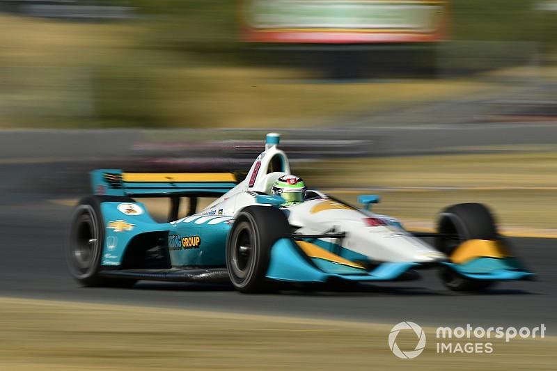 O'Ward splits from Harding Steinbrenner Racing