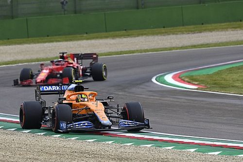 "Norris: ""Right decision"" for soft tyres at Imola race restart"