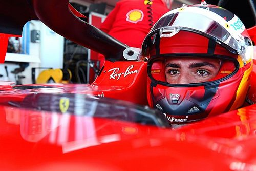 Gallery: Sainz's first day in a Ferrari F1 car