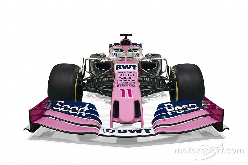Gallery: Racing Point's new Formula 1 livery