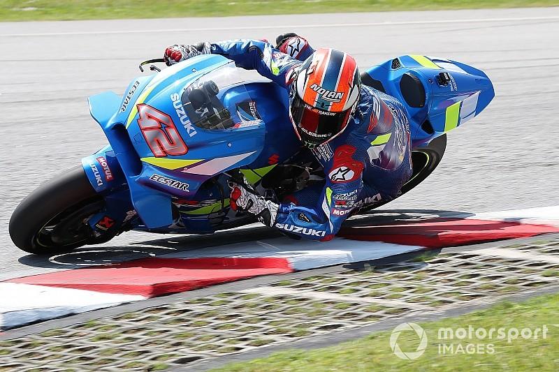 Suzuki: nei test di Sepang ha esordito una nuova carena per la GSX-RR di Rins e Mir