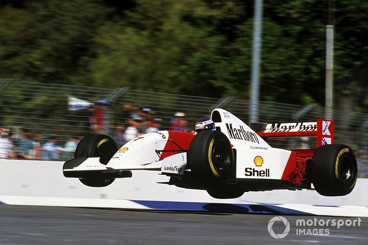 El finlandés volador, la historia de una de las mejores imágenes de F1