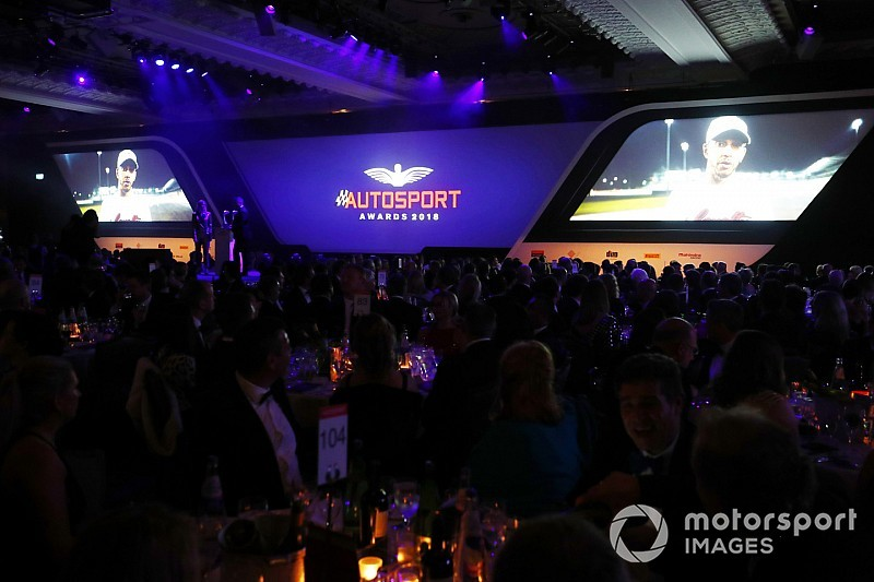 Live: Autosport Awards 2018 from London's Park Lane