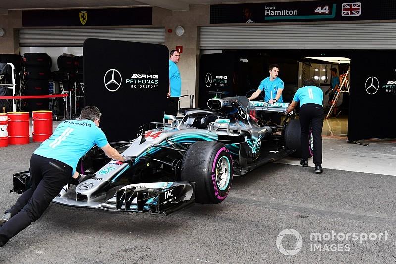 Mercedes hasn't fully solved