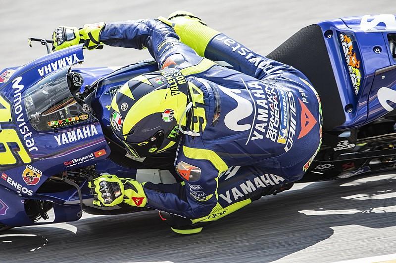 """Rossi: """"Podríamos ver otra carrera en grupo, como la de Assen"""""""