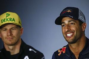Ricciardo cree que Hulkenberg es mucho mejor de lo que muestran sus números